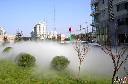 人造雾|自动喷雾机|西安景观喷雾器