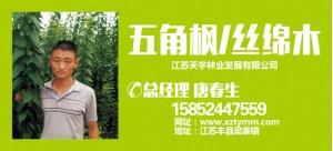 唐春生——江苏天宇林业发展有限公司