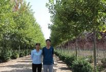2017.9.23华夏园林考察青岛青山胜景农业科技有限公司